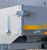 Eduard Ongeremde Eduard Plateauwagen - 230x145 cm - 750 kg ongeremde plateauwagen - 56cm laadvloerhoogte -