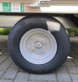 Eduard Ongeremde Eduard Plateauwagen - 230x145 cm - 750 kg ongeremde plateauwagen - 56 cm laadvloerhoogte