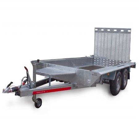 TEMARED TEMARED BUILDER 350x160 cm - 3500 kg - geremd - machinetransporter met oprijklep