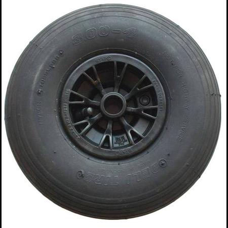 3.00-4 4PR Boeggeleiding Freewheel boottrailer
