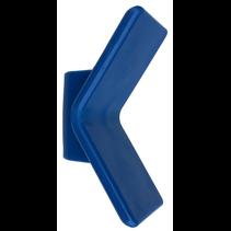 Vangmuil Blauw PE ( Streeploos) 72x22 mm