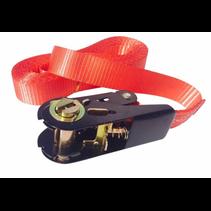 Spanband rood 500x2,5 cm (750 kg)