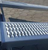 Eduard Geremde Eduard Multitransporter - 456x200 3000 kg bruto laadvermogen - 56 cm laadvloerhoogte - 30 cm borden - inclusief oprijplaten en handlier
