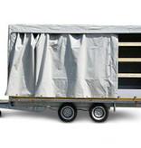 Eduard Geremde Eduard Multitransporter - 456x220 3000 kg bruto laadvermogen - 56 cm laadvloerhoogte - 30 cm borden - inclusief oprijplaten