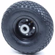 Steekwagenwiel 3.00-4 luchtband - 75 kg - 20 mm