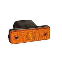 Aspock Flatpoint 1 LED - oranje/geel - connector