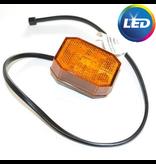 Aspock Aspock Flexipoint - oranje/gele markeringslamp 50 cm platte kabel - DC kabel