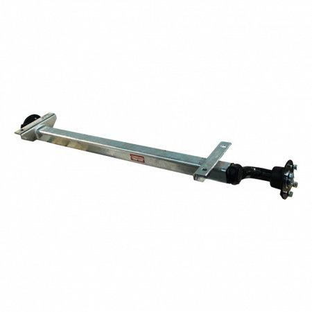 Knott Ongeremde torsie as - padmaat 1150 mm - flensmaat 1600 mm - 750 kg - 4x100