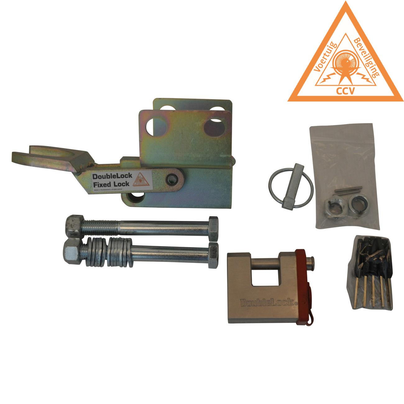 DoubleLock AK351 Fixed Lock - SCM gekeurd onderbouw disselslot voor de AL-KO AK351