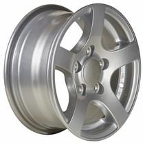 Losse lichtmetalen velg (zilver) 5Jx13 (5x112) 750kg ET30