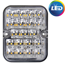 Achteruitrijlamp LED - 100x80x28 mm