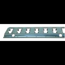 Rails voor ladingzekering  2,5 mm dikte