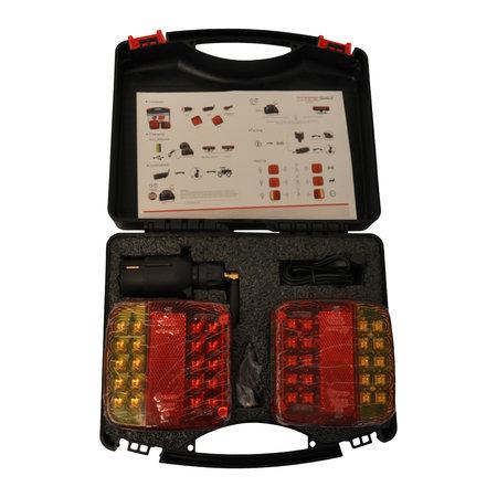 AWD LED verlichtingsset met magneten - draadloos - 7 polig