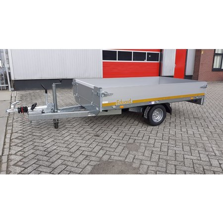 Eduard Geremde Eduard Plateauwagen - 250x145 cm - 1350 kg - 56 cm laadvloerhoogte