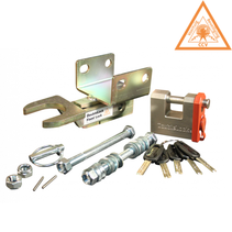 Type B Fixed Lock - SCM - 2x horizontaal M12