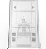 Eduard Geremde Eduard achterwaartse kipper - 256x150 cm - 1500 kg bruto laadvermogen - elektrisch, extern laden met afstandsbediening en een handpomp - 63 cm laadvloerhoogte