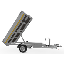 256x150 cm - 1350 kg - elek/handpomp - 63 cm