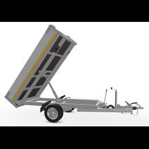 256x150 cm - 1350 kg - elek/handpomp