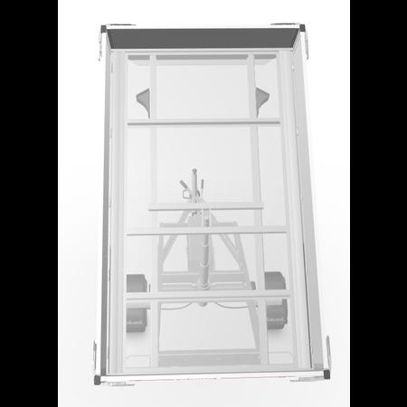 Eduard Geremde Eduard achterwaartse kipper - 256x150 cm - 1350 kg bruto laadvermogen - elektrisch, extern laden en een handpomp - 63 cm laadvloerhoogte