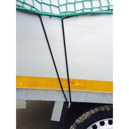 AWD Premium maasnet - 250x160 cm - inclusief elastiek rondom - UV bestendig - net voor aanhanger