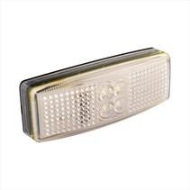 Zijmarkeringslamp LED - wit - losse draad