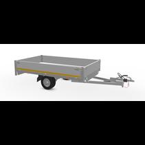 256x150 cm - 1000 kg - 30 cm borden 145/80R10