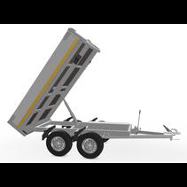 256x150 cm -  750 kg - afstands/handp - 72 cm