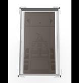 Eduard Ongeremde Eduard achterwaartse kipper - 256x150 cm - 750 kg bruto laadvermogen - handpomp - 72 cm laadvloerhoogte
