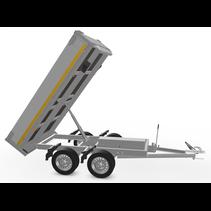 256x150 cm -  750 kg - afstands/handp - 63 cm