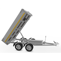 256x150 cm -  750 kg - elek/handpomp - 63 cm
