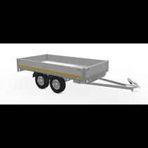 310x160 cm - 750 kg - 30 cm borden - 72 cm