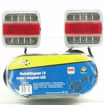 Set magneet 12 meter LED -  7 polig