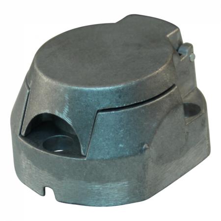 AWD Premium aluminium stekkerdoos 7 polig inclusief mistlampafschakeling