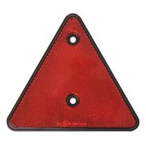 Rode driehoek reflector