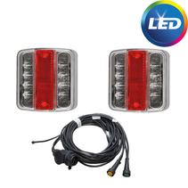 LED set klein - 4,5 meter - 13 polig - aftakkingen