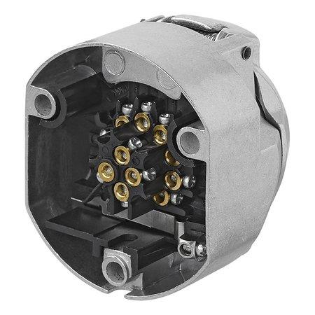 AWD Stekkerdoos 13 polig - metaal - type Jaeger