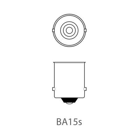 ProPlus Set van 2 lampjes, Bol Bajonet 15D 12V 21W