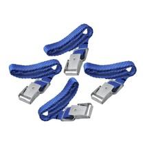 Sjorbanden set van 4 stuks - blauw - 40cmx1,8cm