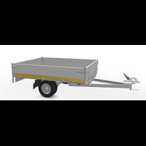 200x145 cm - 750 kg - 30  cm borden - 145/80R10