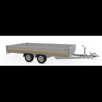 406x180 cm - 2000 kg - 30 cm borden - 63 cm