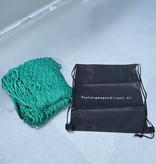 AWD Premium maasnet - 370x250 cm - inclusief elastiek rondom - UV bestendig - net voor aanhanger