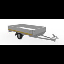 250x145 cm - 750 kg - 30 cm borden - 145/80R10
