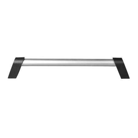 AWD Handvat aluminium 300x20 mm - zilver/ zwart