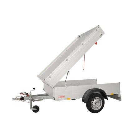 Anssems Anssems GT 750 bagagewagen - 750 kg bruto laadvermogen - 211x126x48 cm laadoppervlak - ongeremd - inclusief deksel