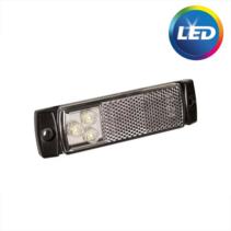 Vlakke zijmarkering LED 50 cm losse draad