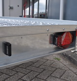 Humbaur Geremde Humbaur autotransporter kipbaar - 400x200 cm - 2700 kg bruto laadvermogen - 58 cm laadvloerhoogte -  inclusief oprijplaten en oprijbaan