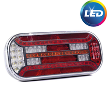 Dynamisch achterlicht Links - LED 302x130x51 mm