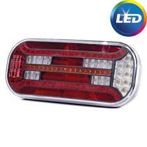 Dynamisch achterlicht rechts- LED 302x130x51 mm