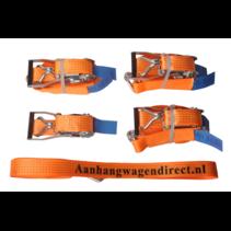 4x spanband 800x5 cm - (5000 kg) - oranje