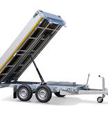 Eduard Geremde Eduard achterwaartse kipper - 310x160 cm - 2700 kg bruto laadvermogen - elektrisch, extern laden - 72 cm laadvloerhoogte